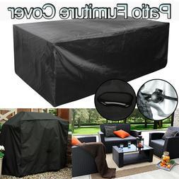 Waterproof Patio Furniture Cover Rectangular Outdoor Table B