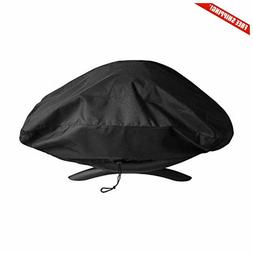 UNICOOK Waterproof Portable Grill Cover for Weber Q1000, Q10