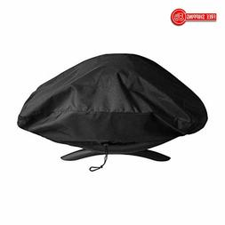 UNICOOK Waterproof Portable Grill Cover for Weber Q2000, Q20