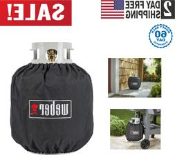 Weber 7137 Propane Gas Tank Bottle Cover Barbeque Grill Heav