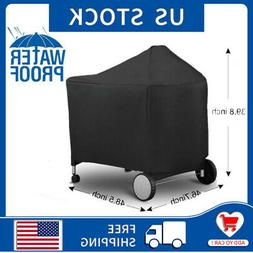Weber 7152 Black Grill Cover with Storage Bag for Performer