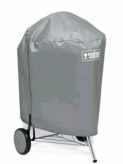 "Weber 7176 Charcoal BBQ Kettle Grill Vinyl Cover 22"" NEW!"