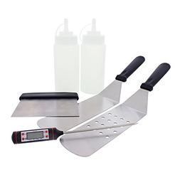 Yukon Glory 888 Premium 6 Piece Griddle Utensil and Flat Top
