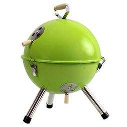 BBQ yong Outdoor Circular Grill Mini Portable 3-5 People Cha